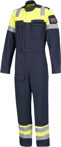 Inherent FR coverall yellow/navy 52